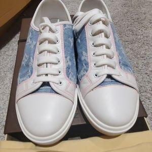 Louis Vuitton Denim Sneakers - Rare